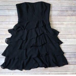EUC WHBM black dress, size 6